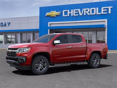 2021 Chevrolet Colorado Crew Cab 4x4, Pickup #21C152 - photo 3