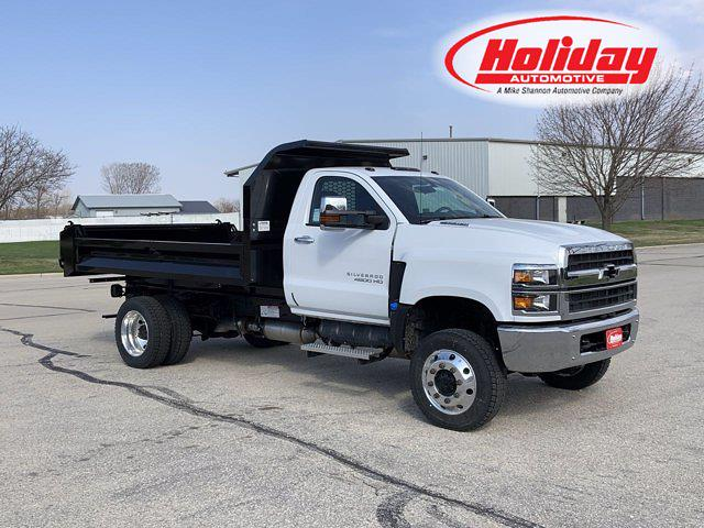 2021 Chevrolet Silverado 4500 Regular Cab DRW 4x4, Dump Body #21C218 - photo 1