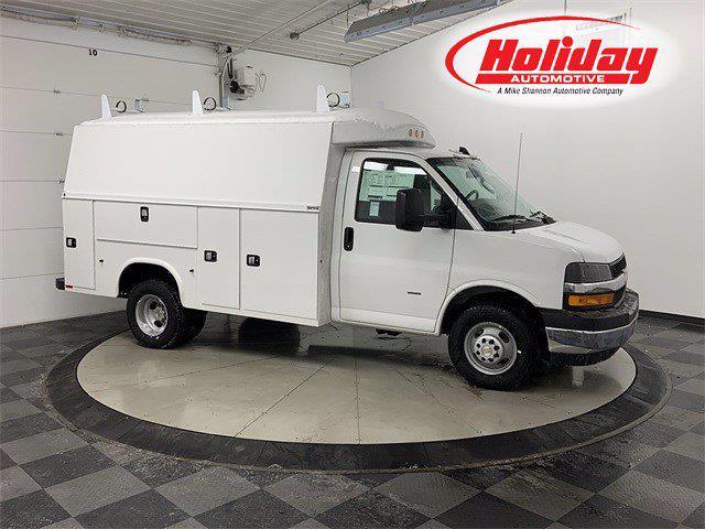 2021 Chevrolet Express 3500 4x2, Knapheide Service Utility Van #21C226 - photo 1