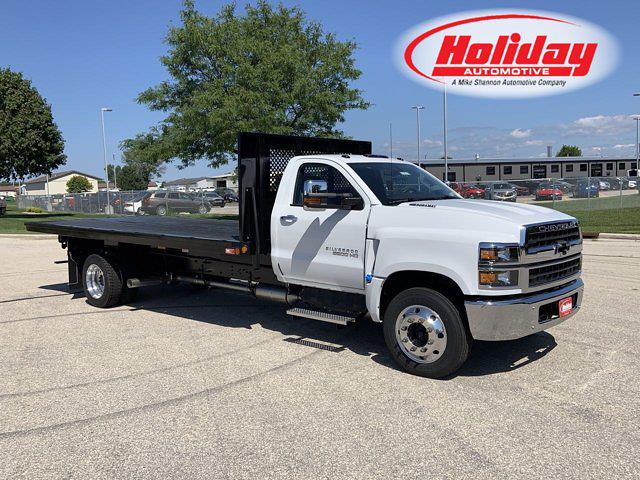 2021 Silverado 6500 Regular Cab DRW 4x2,  Monroe Truck Equipment Platform Body #21C441 - photo 1