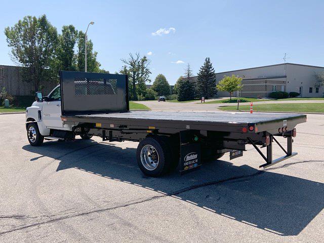 2021 Silverado 6500 Regular Cab DRW 4x2,  Monroe Truck Equipment Platform Body #21C441 - photo 4