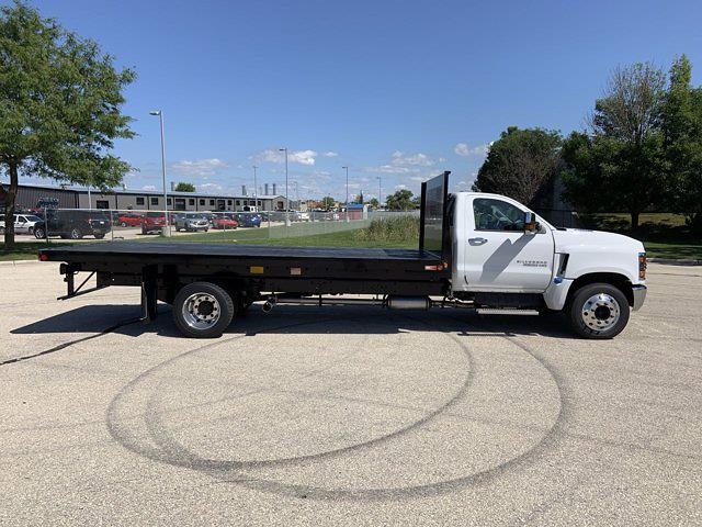 2021 Silverado 6500 Regular Cab DRW 4x2,  Monroe Truck Equipment Platform Body #21C441 - photo 3