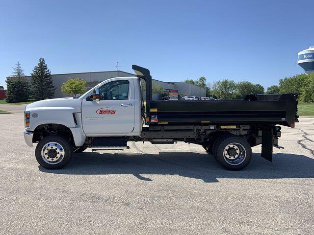 2021 Silverado 6500 Regular Cab DRW 4x4,  Monroe Truck Equipment Dump Body #21C442 - photo 29