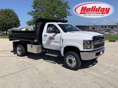 2021 Silverado 6500 Regular Cab DRW 4x4,  Monroe Truck Equipment Dump Body #21C442 - photo 1