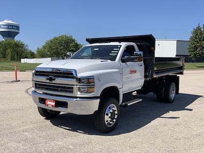 2021 Silverado 6500 Regular Cab DRW 4x4,  Monroe Truck Equipment Dump Body #21C442 - photo 28