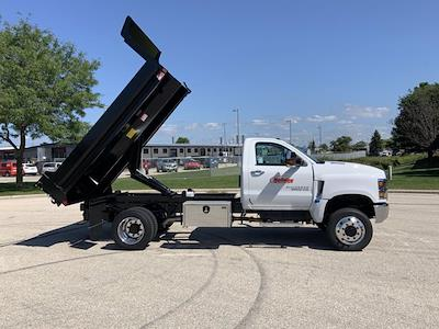 2021 Silverado 6500 Regular Cab DRW 4x4,  Monroe Truck Equipment Dump Body #21C442 - photo 32