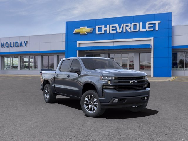 2021 Chevrolet Silverado 1500 Crew Cab 4x4, Pickup #21C55 - photo 1