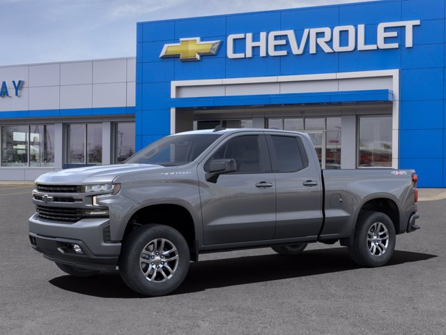 2021 Chevrolet Silverado 1500 Double Cab 4x4, Pickup #21C85 - photo 3