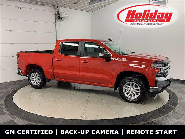2019 Chevrolet Silverado 1500 Crew Cab 4x4, Pickup #21G666A - photo 1