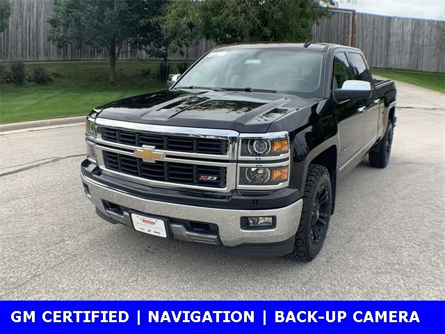 2014 Silverado 1500 Crew Cab 4x4,  Pickup #W1070A - photo 4
