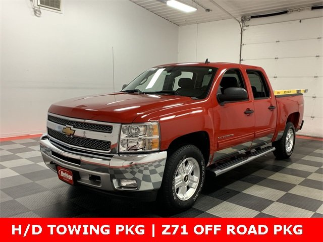 2012 Silverado 1500 Crew Cab 4x4,  Pickup #W1629A - photo 1