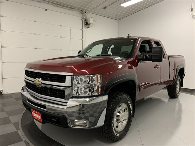2008 Silverado 2500 Extended Cab 4x4,  Pickup #W1876A - photo 5