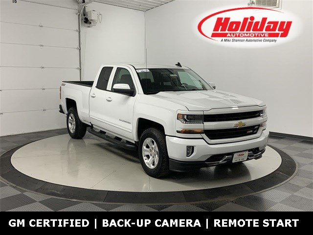 2018 Silverado 1500 Double Cab 4x4, Pickup #W3565 - photo 1