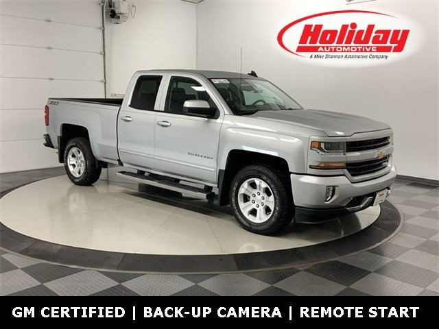 2018 Silverado 1500 Double Cab 4x4, Pickup #W3567 - photo 1
