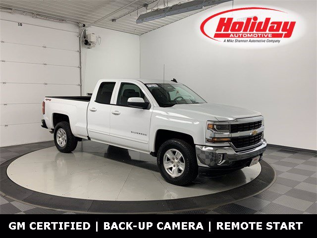 2018 Chevrolet Silverado 1500 Double Cab 4x4, Pickup #W4228 - photo 1