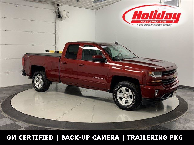 2018 Chevrolet Silverado 1500 Double Cab 4x4, Pickup #W4297 - photo 1