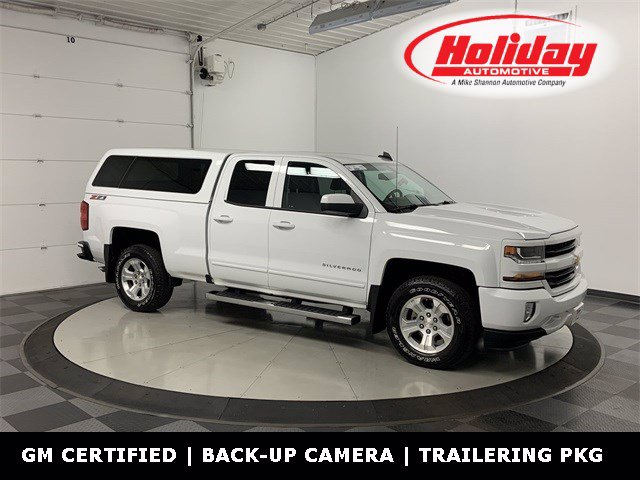 2017 Chevrolet Silverado 1500 Double Cab 4x4, Pickup #W4332 - photo 1
