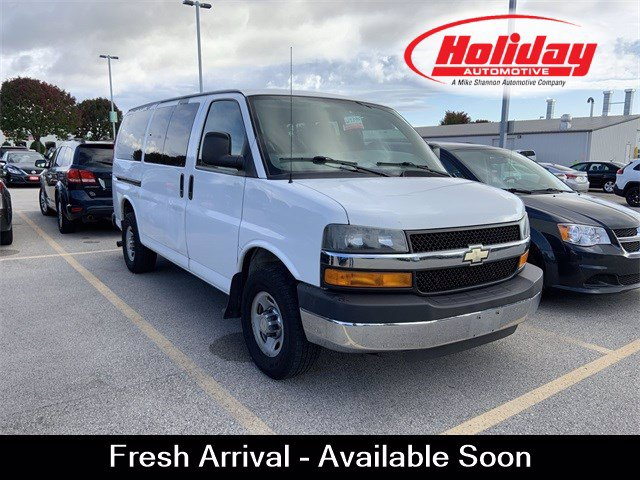 2012 Chevrolet Express 3500 4x2, Passenger Wagon #W4394A - photo 1