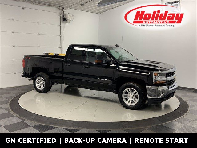 2018 Chevrolet Silverado 1500 Double Cab 4x4, Pickup #W4490 - photo 1