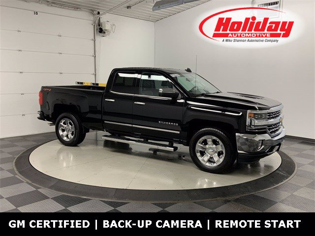 2018 Chevrolet Silverado 1500 Double Cab 4x4, Pickup #W4611 - photo 1