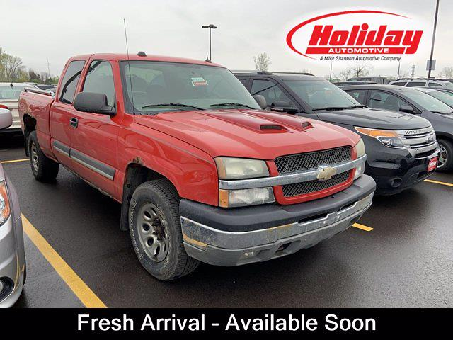 2005 Chevrolet Silverado 1500 Extended Cab 4x4, Pickup #W4822B - photo 1