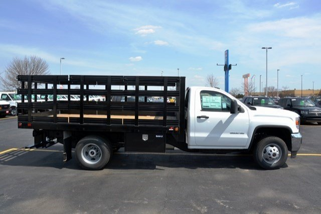 2016 Sierra 3500 Regular Cab, Supreme Stake Bed #16G618 - photo 6