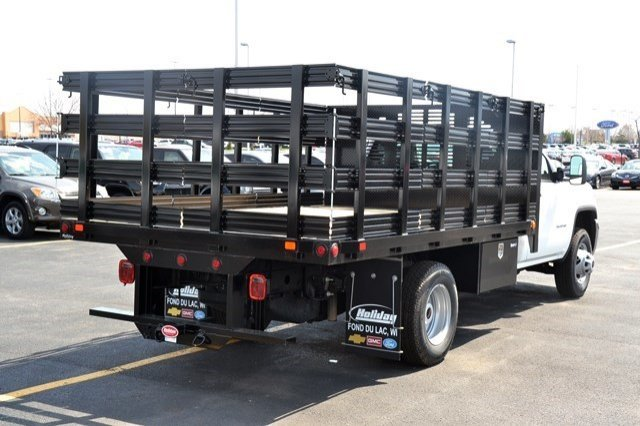 2016 Sierra 3500 Regular Cab, Supreme Stake Bed #16G618 - photo 7