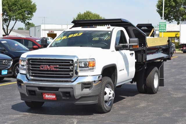 2017 Sierra 3500 Regular Cab 4x4, Dump Body #17G931 - photo 22