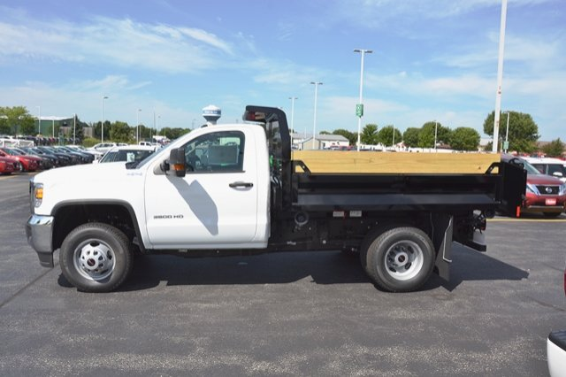 2017 Sierra 3500 Regular Cab 4x4, Dump Body #17G931 - photo 23