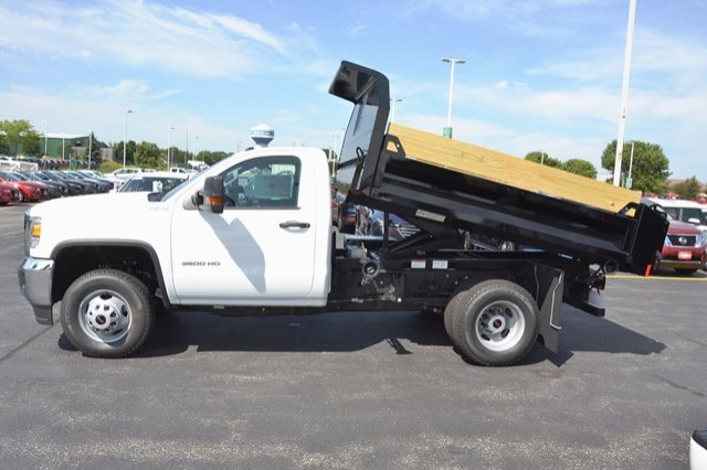 2017 Sierra 3500 Regular Cab 4x4, Dump Body #17G931 - photo 24