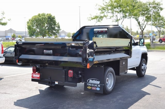 2017 Sierra 3500 Regular Cab 4x4, Dump Body #17G931 - photo 27