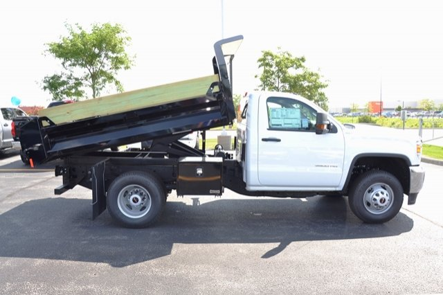 2017 Sierra 3500 Regular Cab 4x4, Dump Body #17G931 - photo 29