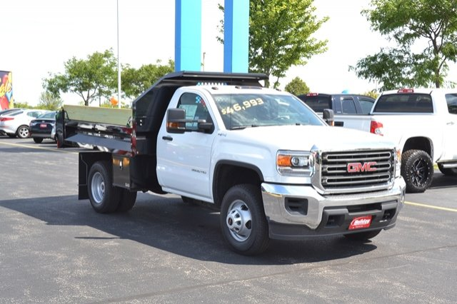 2017 Sierra 3500 Regular Cab 4x4, Dump Body #17G931 - photo 30