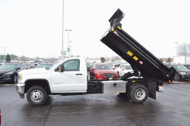2018 Sierra 3500 Regular Cab DRW 4x4, Monroe Dump Body #18G637 - photo 10