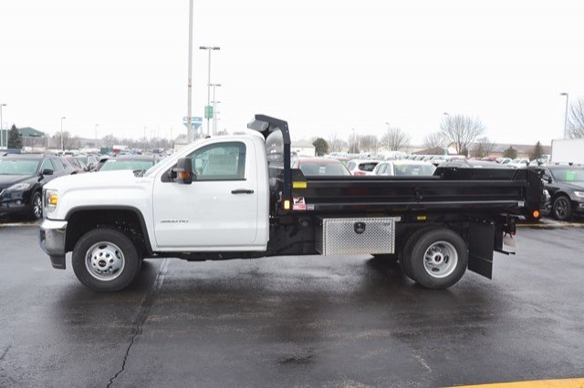 2018 Sierra 3500 Regular Cab DRW 4x4, Monroe MTE-Zee Dump Dump Body #18G637 - photo 4