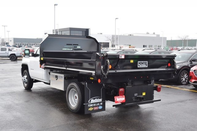 2018 Sierra 3500 Regular Cab DRW 4x4, Monroe MTE-Zee Dump Dump Body #18G637 - photo 2