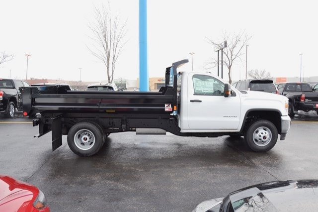2018 Sierra 3500 Regular Cab DRW 4x4, Monroe MTE-Zee Dump Dump Body #18G637 - photo 7