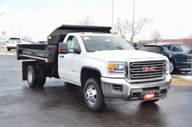 2018 Sierra 3500 Regular Cab DRW 4x4, Monroe Dump Body #18G637 - photo 8