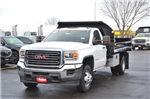 2018 Sierra 3500 Regular Cab DRW 4x4, Monroe MTE-Zee Dump Dump Body #18G637 - photo 3