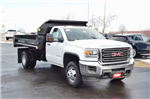 2018 Sierra 3500 Regular Cab DRW 4x4, Monroe MTE-Zee Dump Dump Body #18G637 - photo 8