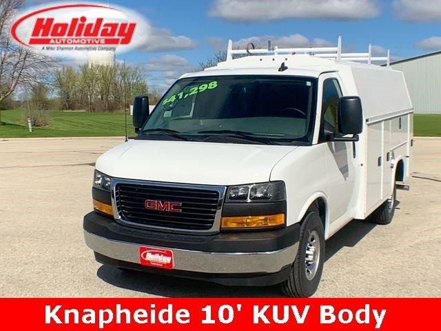 2019 Savana 3500 4x2,  Knapheide Service Utility Van #19G296 - photo 1