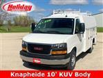 2019 Savana 3500 4x2,  Knapheide KUV Service Utility Van #19G296 - photo 1