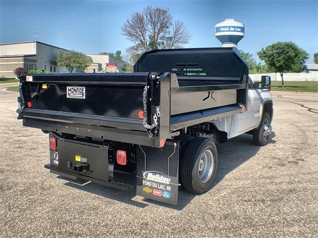 2019 Sierra 3500 Regular Cab DRW 4x4,  Monroe MTE-Zee Dump Body #19G529 - photo 11