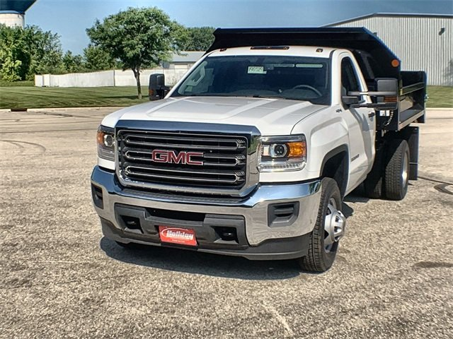 2019 Sierra 3500 Regular Cab DRW 4x4,  Monroe MTE-Zee Dump Body #19G529 - photo 3