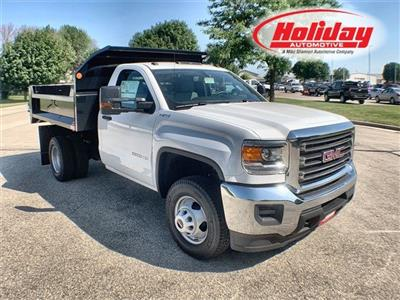 2019 Sierra 3500 Regular Cab DRW 4x4,  Monroe MTE-Zee Dump Body #19G529 - photo 1