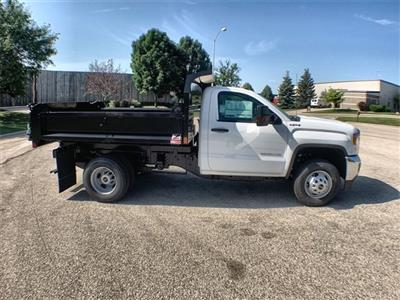 2019 Sierra 3500 Regular Cab DRW 4x4,  Monroe MTE-Zee Dump Body #19G529 - photo 12