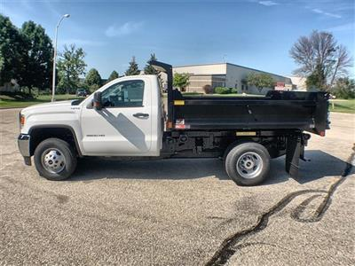 2019 Sierra 3500 Regular Cab DRW 4x4,  Monroe MTE-Zee Dump Body #19G529 - photo 8