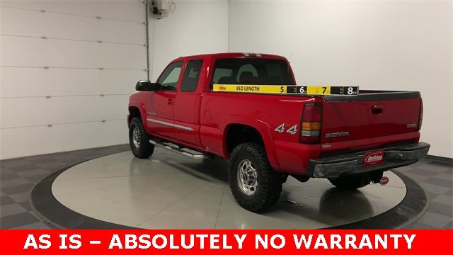 2004 Sierra 2500 Extended Cab 4x4, Pickup #19G556C - photo 27