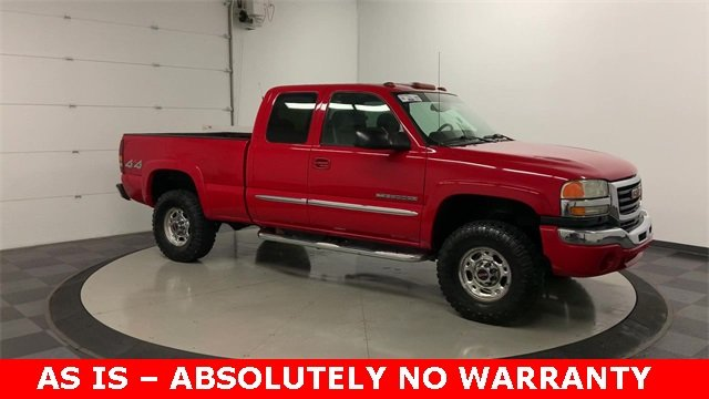 2004 Sierra 2500 Extended Cab 4x4, Pickup #19G556C - photo 29