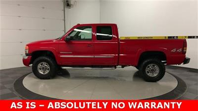 2004 Sierra 2500 Extended Cab 4x4, Pickup #19G556C - photo 26